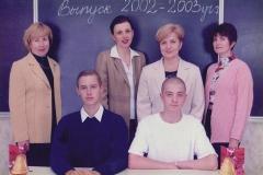 Выпускники 2003 года